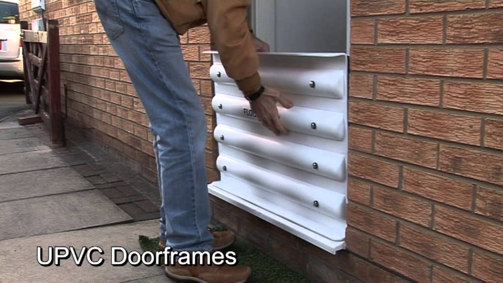 Floodshield Flood Protection Door Barrier Youtube