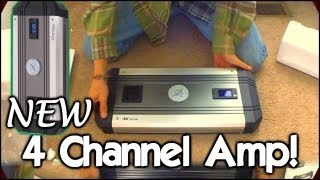 4 Channel Amplifier Un-Boxing | Oxygen Audio Air2 Pro F550 / EXO's 1000 Watt O2 Mids & Highs AMP