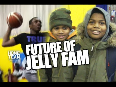 Isaiah Washington Workout with The FUTURE OF JELLY FAM