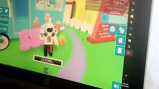 Ice cream simulater Roblox w please donthackgarch