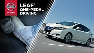 homepage tile video photo for 2019 Nissan LEAF E-Pedal Explained