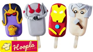 Marvel Avengers Cake Decoration Ideas | Avengers Endgame Cakesicles | Hoopla Recipes