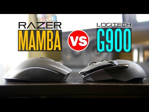 Logitech G900 Vs Razer Mamba Chroma - Ultimate Wireless Gaming Mouse Comparison