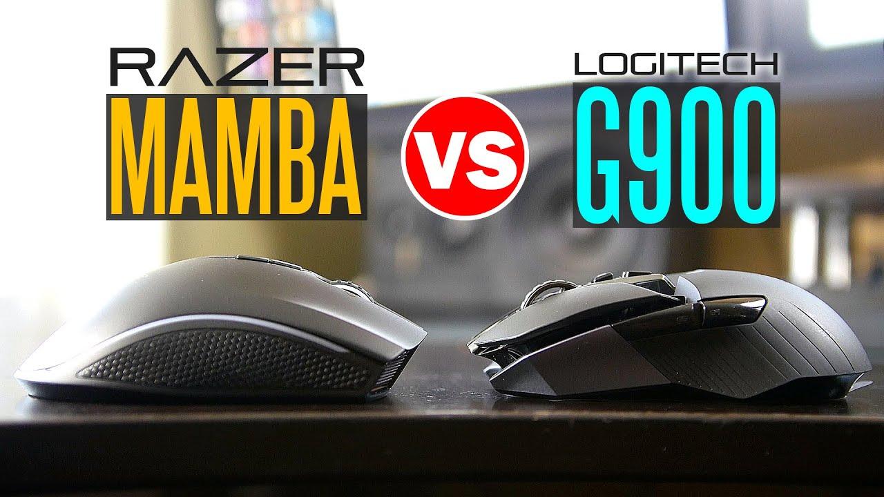 90498e707d9 Logitech G900 vs Razer Mamba Chroma - Ultimate Wireless Gaming Mouse  Comparison