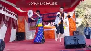 Aapata gangdan selo song with dance  SONAM LHOSAR 2853 Ft.subash lama Resimi
