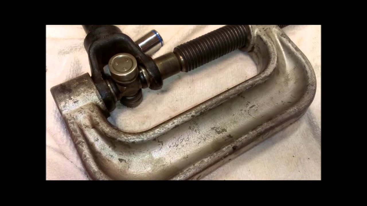 Polaris Sportsman Propshaft U Joint Replacement Youtube