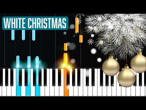 """""""White Christmas"""" Piano Tutorial - Chords - How To Play - Cover"""