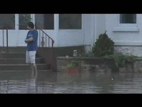 Fond du Lac, WI Flooding Photo Montage