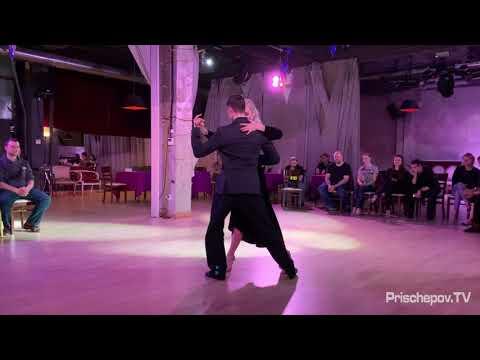 """Светлана Зайцева и Иван Тоцкий,  """"Buscándote (Tango)"""", Milonga Fernet Night 12.02.2019"""
