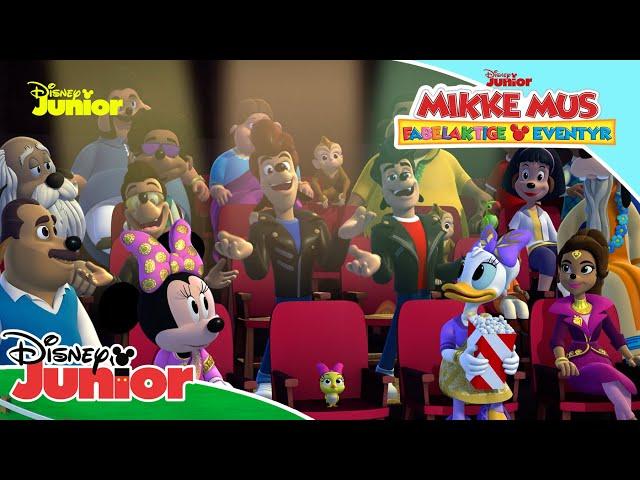 Overraskelser overalt på jorden 🎵  Mikke Mus Fabelaktige Eventyr   Disney Junior Norge