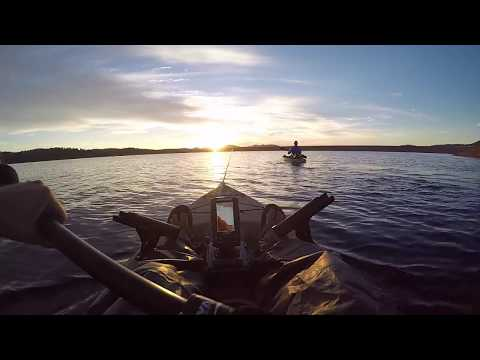 Fishing In Colorado - Rampart Reservoir (from A Kayak)