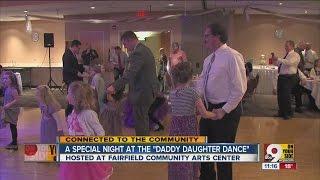 Fairfield Community Arts Center hosts annual 'Daddy Daughter Dance'