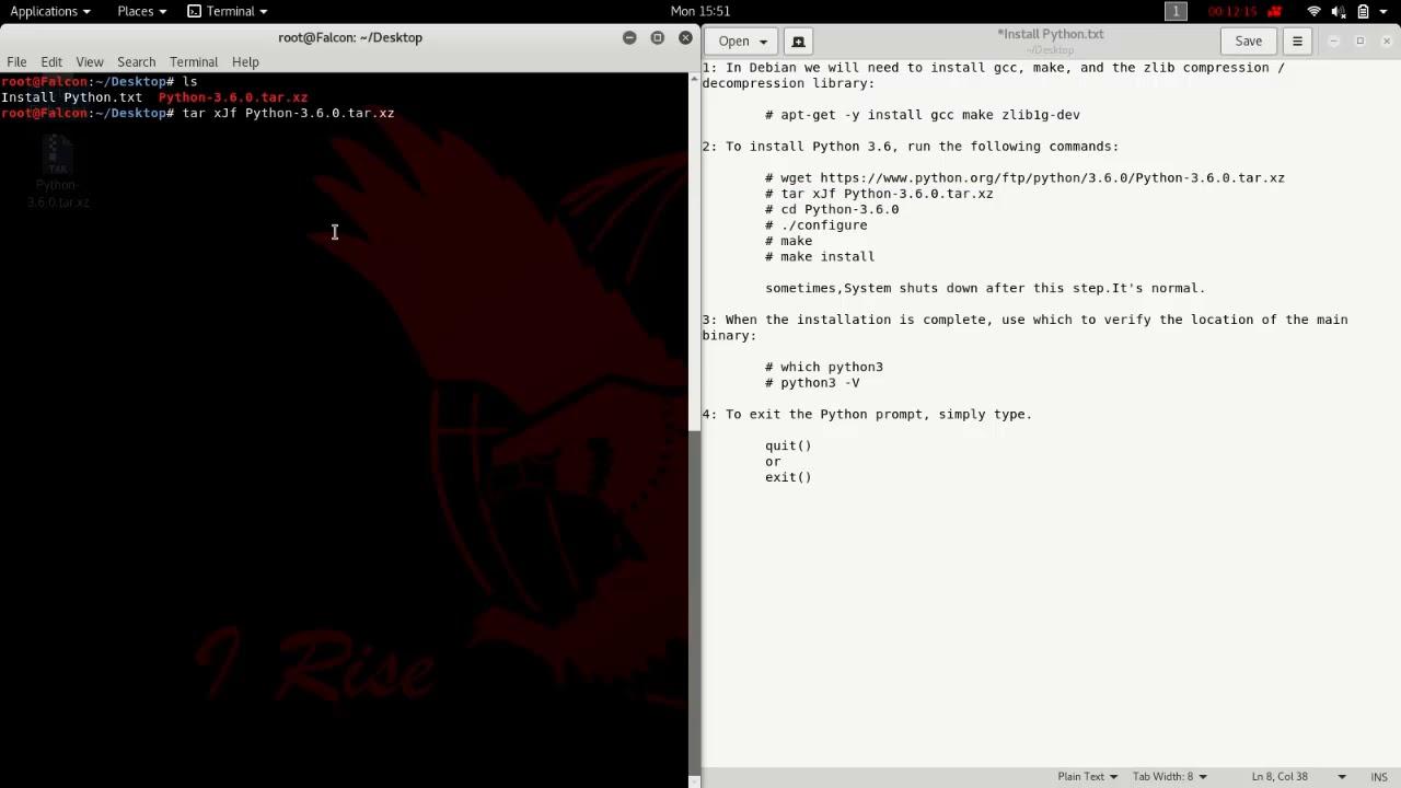 Install Python in Kali Linux! Easy method , 2017