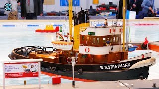 RC SCALE BOAT MODELING 🚢 Lipper Modellbautage 2019 Germany