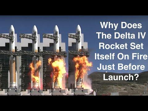Explaining the Delta Rocket Fireball - Kerbal Space Program Doesn't Teach....