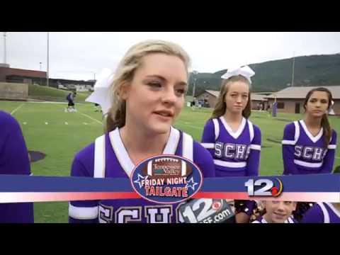 Sequatchie County High School cheerleaders