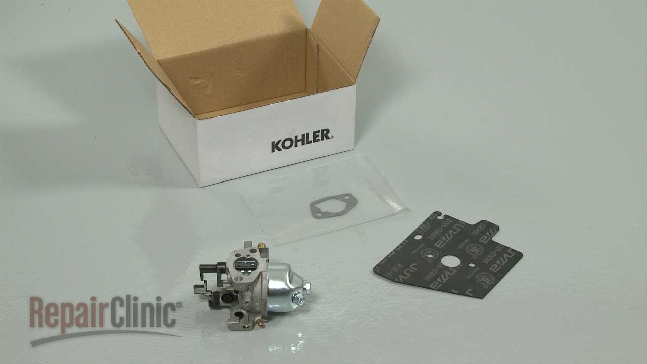 Kohler Lawn Mower Stalls Small Engine Carburetor 14 853 49 S Youtube Diagrams