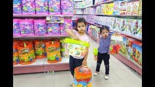 البنات غرزو في محل الألعاب | العاب بنات