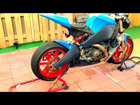 buell 1125r CHAIN CONVERSION - YouTube