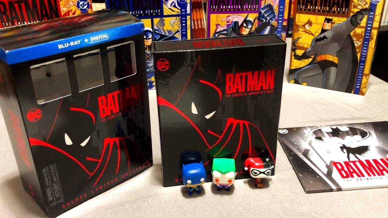 Batman Animated Series Blu Ray