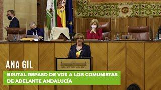 ANA GIL desmonta las locuras ideológicas de los comunistas de Adelante Andalucía