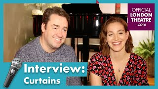 Interview with the cast of Curtains