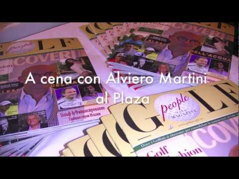 GOLF PEOPLE CLUB MAGAZINE CON ALVIERO MARTINI AL PLAZA DI MILANO