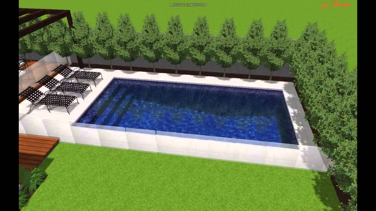 caulfield south 8m x 4m family pool 2 youtube. Black Bedroom Furniture Sets. Home Design Ideas