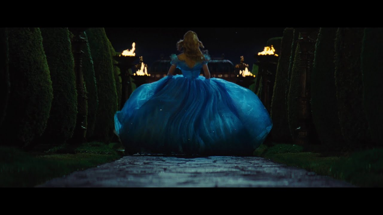 Cinderella 2015 (Escape from the Palace) (Part 1) - YouTube Cinderella Running Away From The Ball