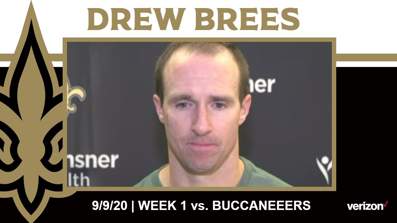 Tom Brady and Drew Brees Faced Off as the Saints Beat the Bucs ...