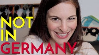 6 Things I've NEVER SEEN in Germany (but saw in the USA)