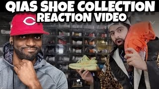 REACTING TO QIAS SHOE COLLECTION  (MUST WATCH)