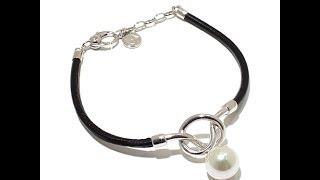 Majorica Manmade Organic Pearl 'Knot' Necklace