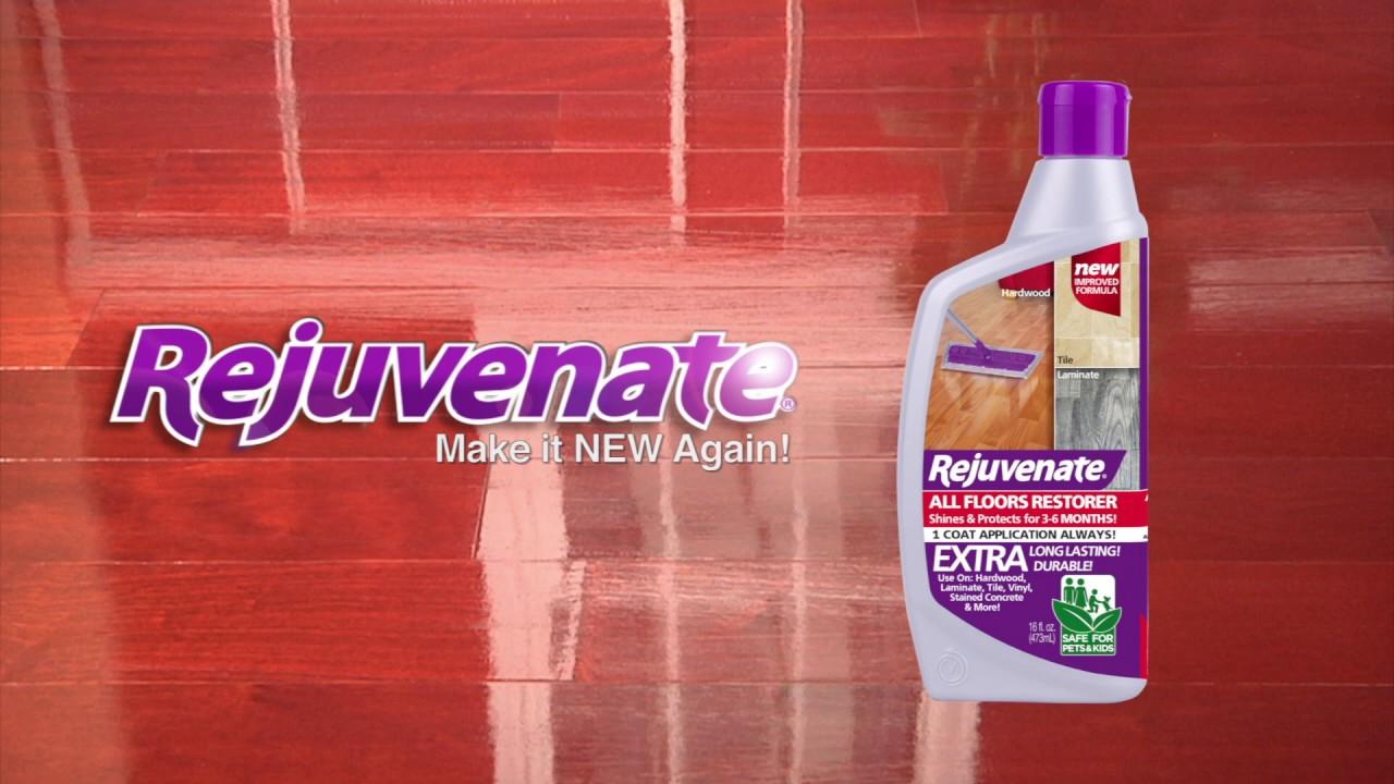 with rejuvenate all floors restorer