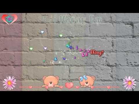Share 6 Aegisub Effect - Phải Không Em - Minh Vương [ Heart ]