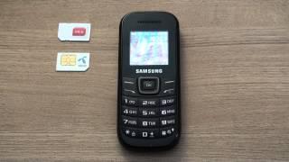 Samsung Pusha E1200 dekodiranje pomoću koda