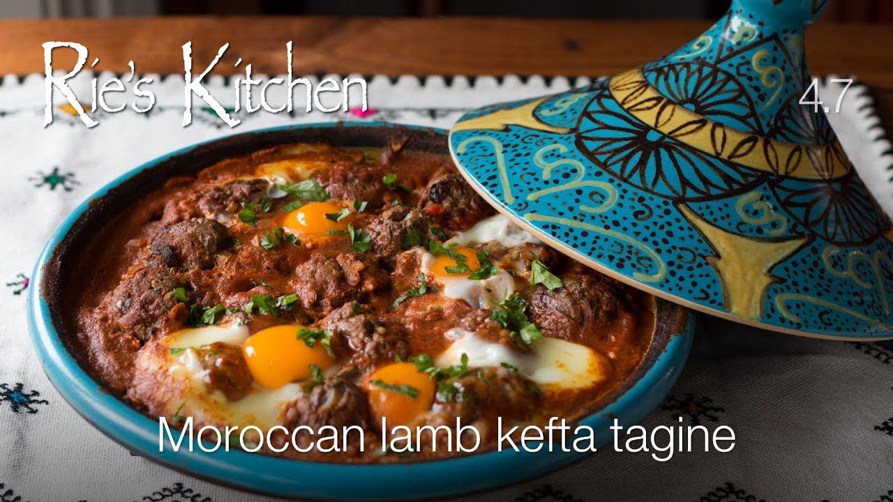 RiesKitchen 4.7: Moroccan lamb kefta tagine