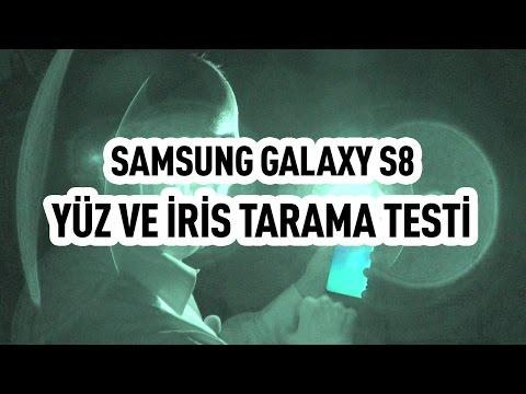 Samsung Galaxy S8 Plus yüz ve iris tarama testi