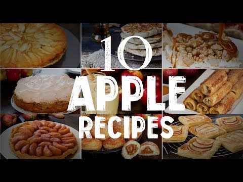 10 Apple Recipes