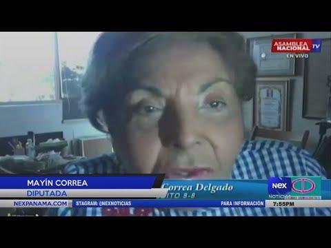 Download Diputada Mayín Correa sustentó las razones del proyecto de Ley 28