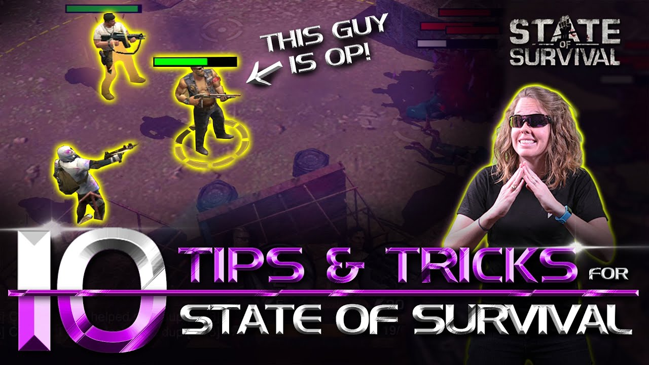 10 Tips and Tricks for State of Survival. English Beginners Guide
