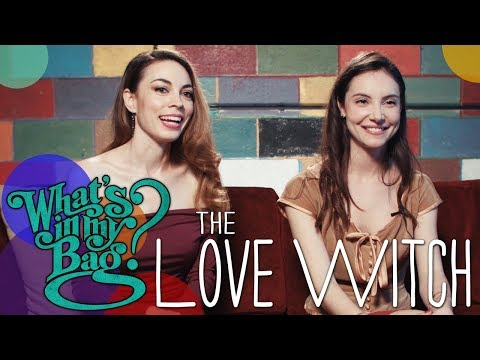 The Love Witch Jennifer Ingrum & Samantha Robinson  What's In My Bag?