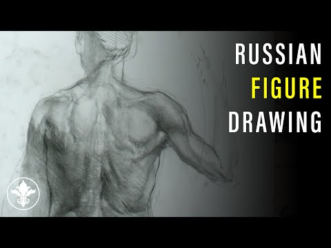 Live Premiere/Q&A: Russian Drawing Course 4: The Human Figure with Iliya Mirochnik