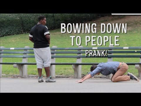 BOWING DOWN TO STRANGERS