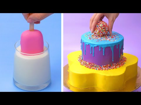 Best of Colorful | So Yummy Dessert Recipes | Easy and So Tasty Cake Decorating Tutorials