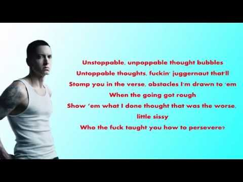 Eminem – Phenomenal (Lyrics Video) HD