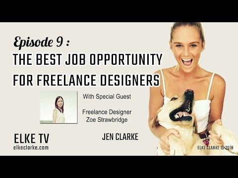 The Best Job Opportunity for Freelance Designers
