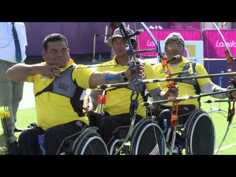 Archery - Turkey v Malaysia - Men's Team Recurve - Round of 16 - London 2012 Paralympic Games