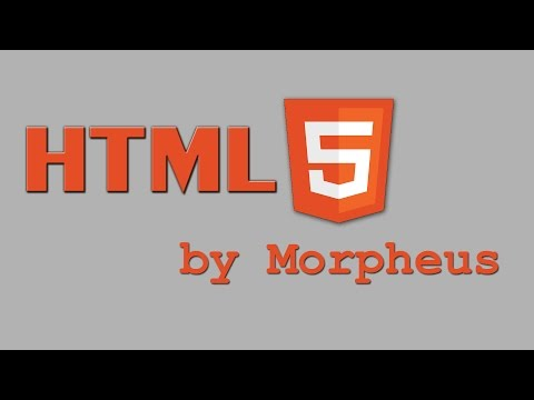 HTML 5 Tutorial #14 - Audio Und YouTube Einbetten