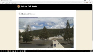 Yellowstone old faithful live stream and chat.